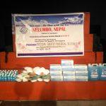 नेलम्बो नेपालद्धारा फोनिज कास्कीलाई स्वास्थ्य सुरक्षा सामाग्री वितरण