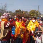 वाईवाई नेपाल स्टार पहिलो विजेता एलिना गुरुङ्गलाई गृहनगर पोखरामा भव्य स्वागत